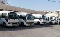 اعتصام سائقو حافلات العمومي في عجلون