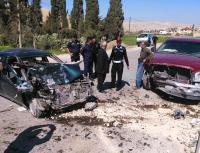 5 إصابات بحادث سير مروع بسحاب