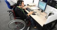 مسيرة لدعم قانون حقوق ذوي الإعاقة