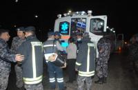 27 إصابة بحادث تصادم في العقبة