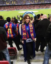 يارا تنجو من الموت في برشلونة ..  وهذا تعليقها الأول!