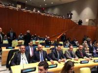 وفد نيابي أردني في الأمم المتحدة
