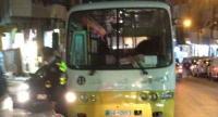 حادث سير بين حافلة ومركبتين في عمان