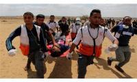 اصابات جراء اعتداء الاحتلال في مسيرة العودة