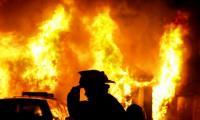 حريق منزل في عجلون دون إصابات