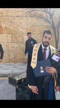 أحمد الطوباسي ..  مبارك التخرج