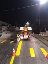 الأمانة تعزز أعمال السلامة المرورية في عمان
