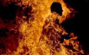 ثلاثيني بحرق نفسه في الكرك