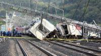 6 قتلى بانحراف قطار عن سكته في المغرب