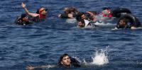 غرق 203 مهاجر بالبحر المتوسط