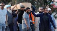 """بدء مراسم دفن ضحايا حادثة """"المسجدين"""""""