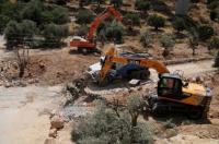 إخطار إسرائيلي بوقف البناء بمنازل وبركسات في برطعة