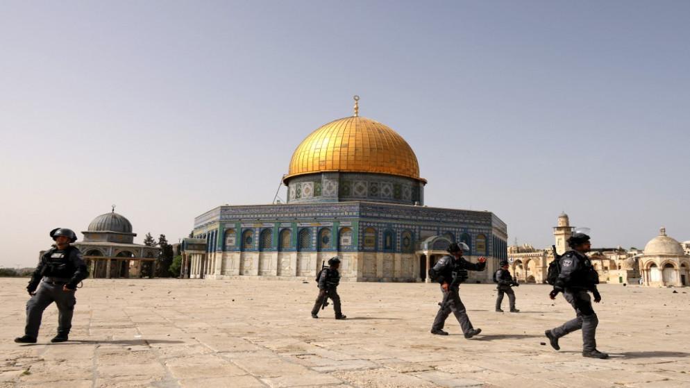 أحداث اليوم الإخباري   الخلايلة: ما يجري في المسجد الأقصى ...