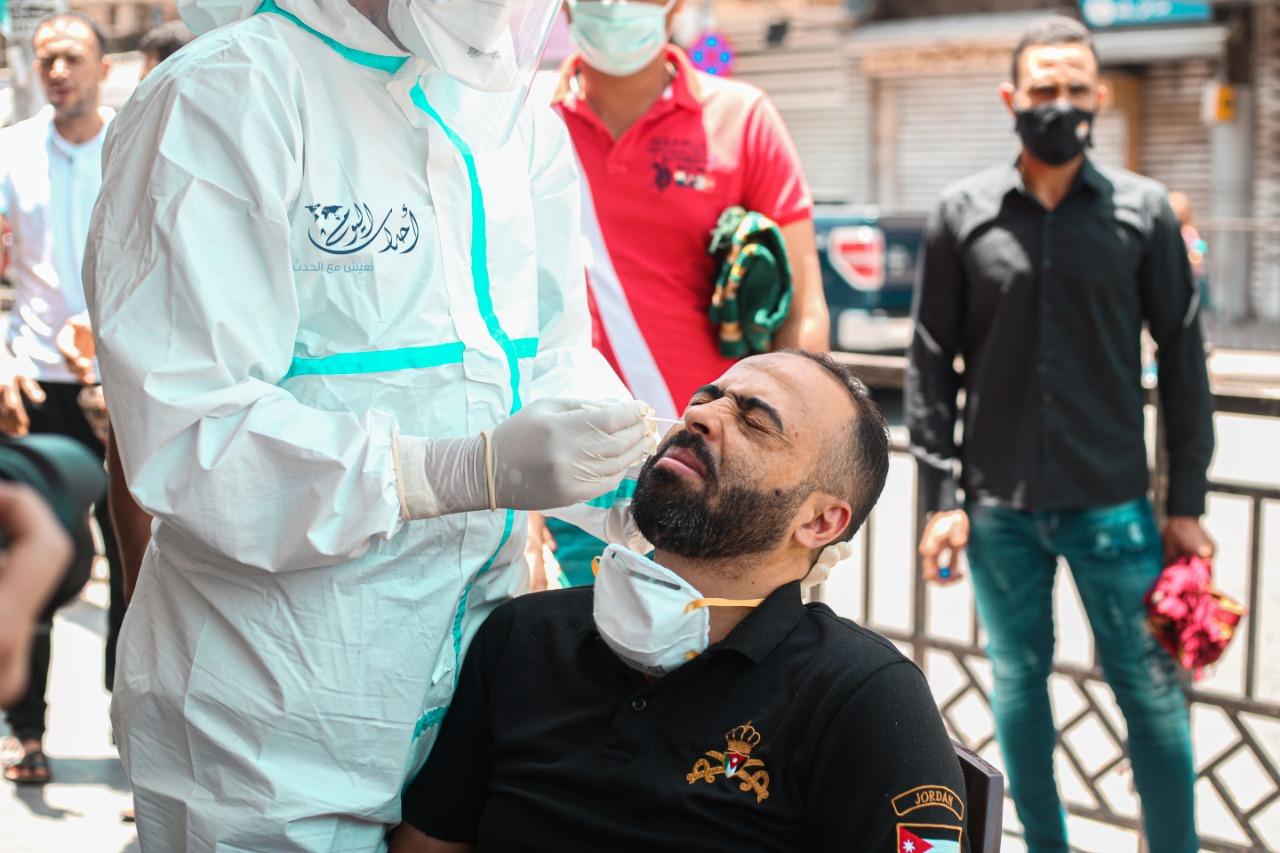 5 وفيات و646 إصابة جديدة بكورونا في الأردن