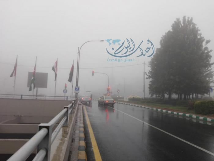 ضباب كثيف يخيّم على عمان - فيديو