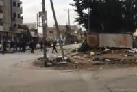 أعمال الشغب تتجدد في الصريح والأمن يتدخل - فيديو