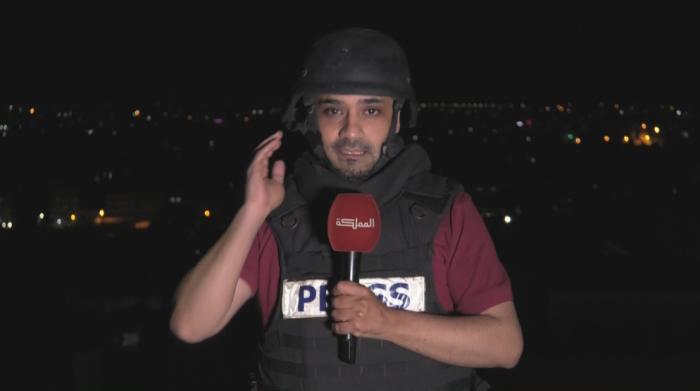 إخلاء برج يقع فيه مكتب قناة المملكة في غزة