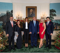ابنة ترامب في علاقة مع شاب من أصول عربية