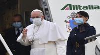 البابا فرنسيس في زيارة تاريخية إلى العراق