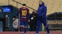 برشلونة يرد على عقوبة ميسي