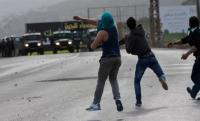 مواجهات مع الاحتلال على حاجز حوارة جنوب نابلس
