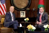 الملك سيكون أول زعيم عربي يلتقيه بايدن