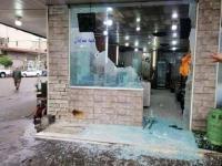 لنفاد نوع من الطعام ..  هجوم مسلح على مطعم في العراق - صور