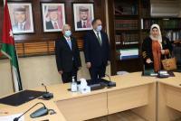 55 محاميا يؤدون اليمين القانونية أمام التلهوني