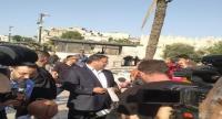 عضو في الكنيست الإسرائيلي يقتحم منطقة باب العامود