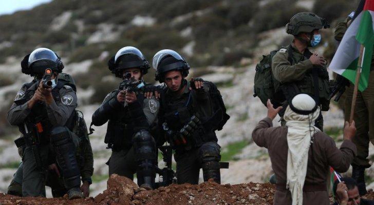 إصابة 211 فلسطينيا بمواجهات مع الاحتلال في نابلس