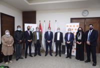 الشباب وأورانج الأردن توقعان اتفاقية تعاون مشترك