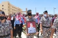 الامن يشيع جثمان الشرطي عبد الحافظ البطوش