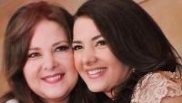 دنيا سمير غانم تتوسل إلى الله من أجل والدتها