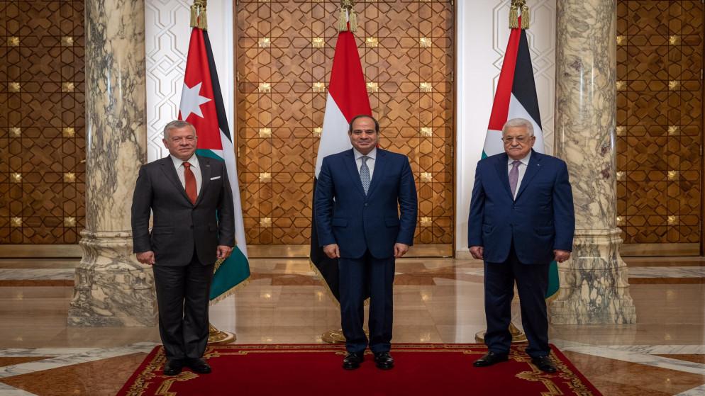 البرلمان العربي يُثمِن مخرجات القمة الأردنية الفلسطينية المصرية