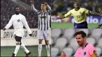 أفضل 5 هدافين في تاريخ كرة القدم ..  - أرقام وتفاصيل