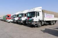 قافلة المساعدات الأردنية تدخل غزة - فيديو
