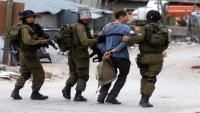 اعتقال 16 فلسطينيا غرب سلفيت