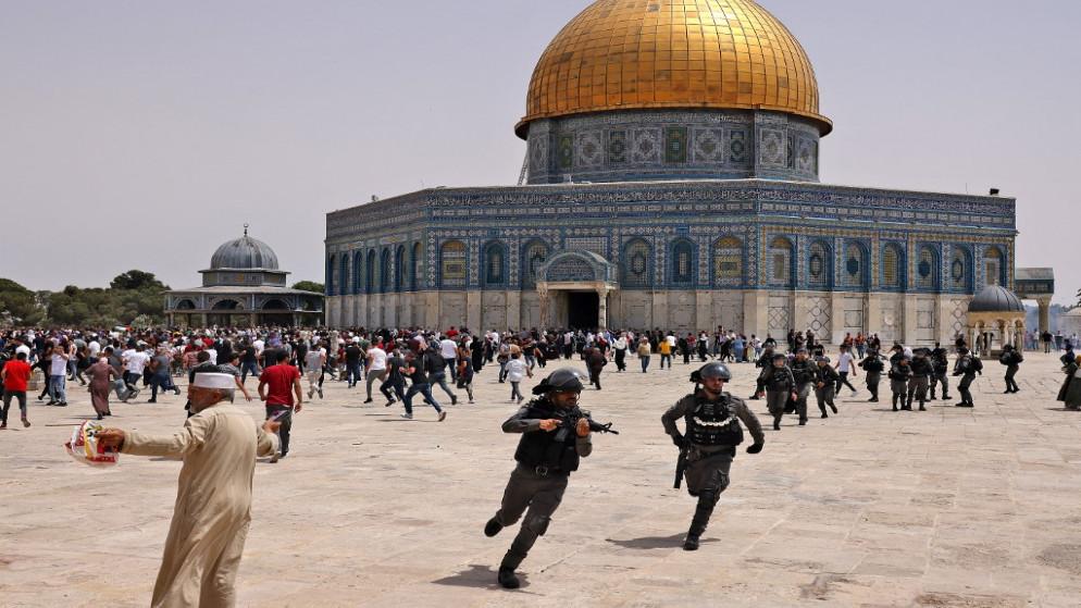 الأردن يدين اقتحام شرطة الاحتلال للمسجد الأقصى