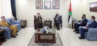العودات: تطابق مواقف الكويت والأردن