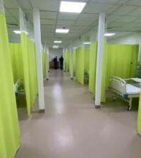الملك يفتتح المستشفى الميداني في الزرقاء