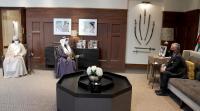 الملك يلتقي أمين عام التعاون الخليجي