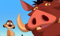 """المسلسل الكرتوني """"تيمون وبومبا"""" يتحول إلى حقيقة - فيديو"""