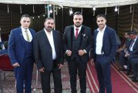 العرموطي طلب والملاح أعطى ..  خطوبة الصحافي أحمد أبو جعفر - صور