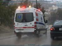 وفاة و11 إصابة بحادث تصادم في جرش
