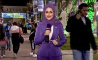 الأردنية هديل رياض أول إعلامية عربية تستضيف ارسين فينغير في لقاء مصور
